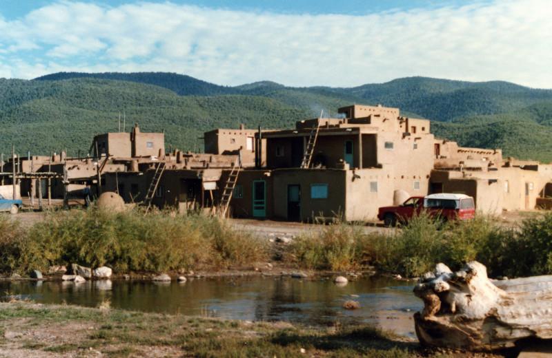 Historic site near El Monte Sagrado.