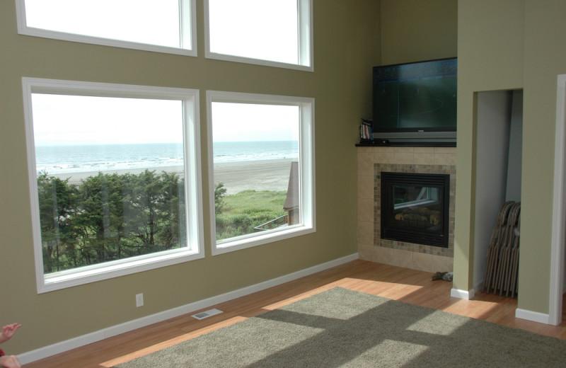 Living room at Retreats & Reunions R&R House.