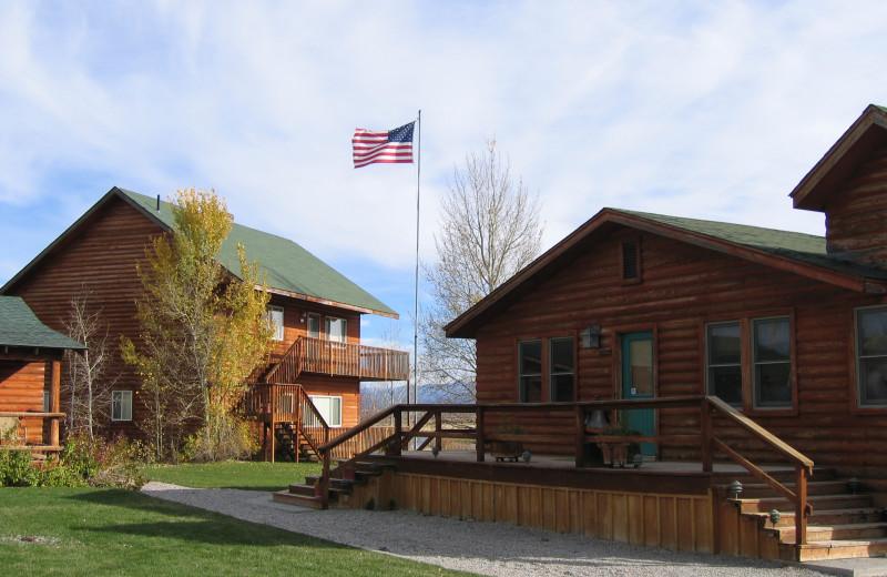 Exterior view of Teton Valley Lodge.
