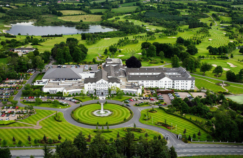 Aerial view of Slieve Russell Hotel Golf and Country Club.