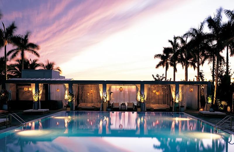 Outdoor pool at Shore Club Miami.