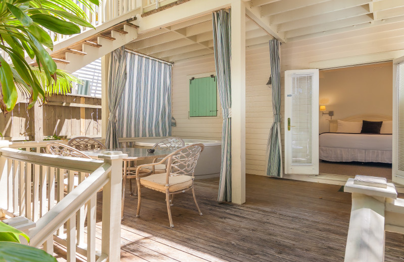 Rental porch at Key West Vacation Rentals.