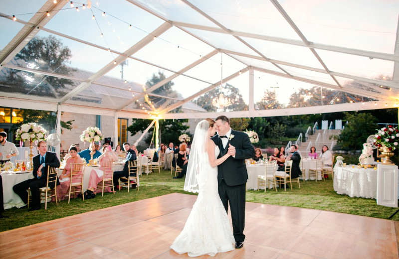 Wedding dance at Hyatt Regency Hill Country Resort and Spa.