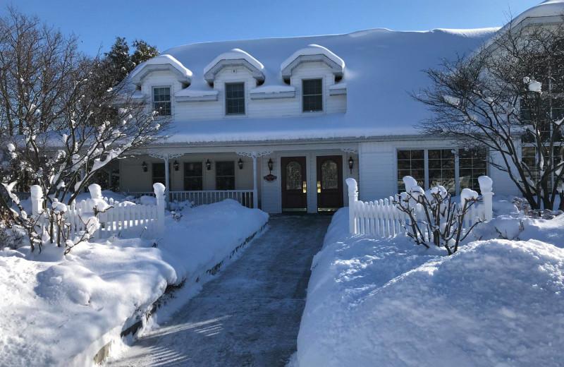Winter at High Point Inn.
