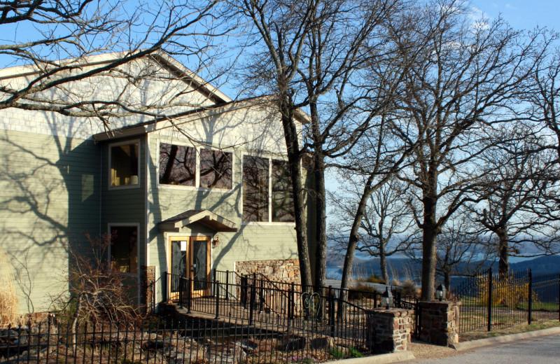 Exterior view of Whitney Mountain Lodge.
