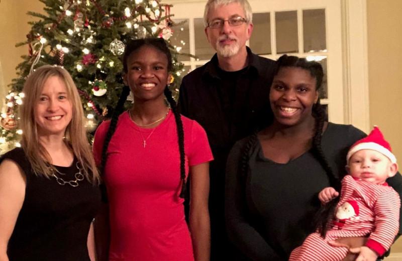 Family at ADK Trail Inn.