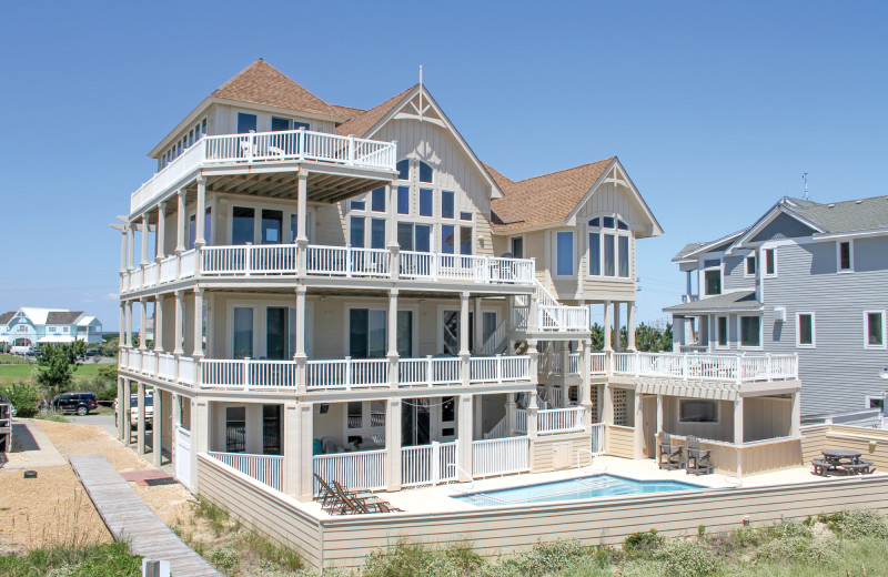 Spacious accommodations at Hatteras Realty.