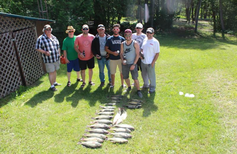 Fishing at Black Rock Resort.