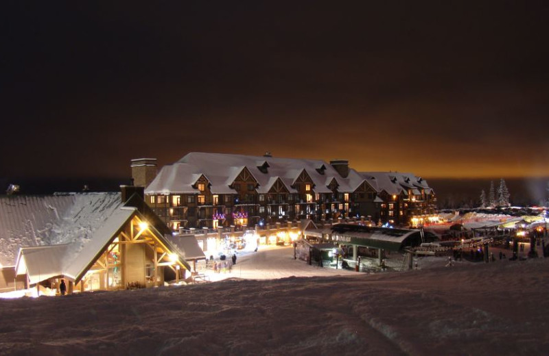 Exterior view of Kicking Horse Resort.