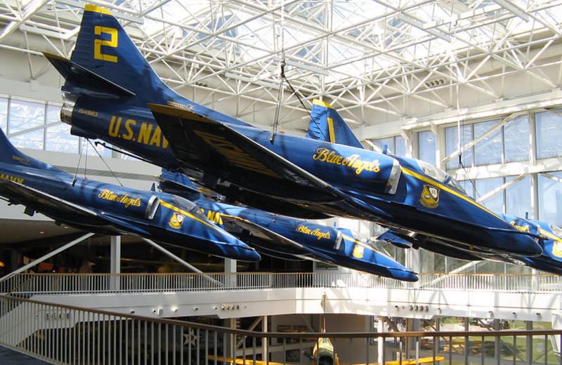 Air museum near Gulf Shores Rentals.