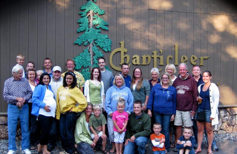 Reunion at Chanticleer Inn.