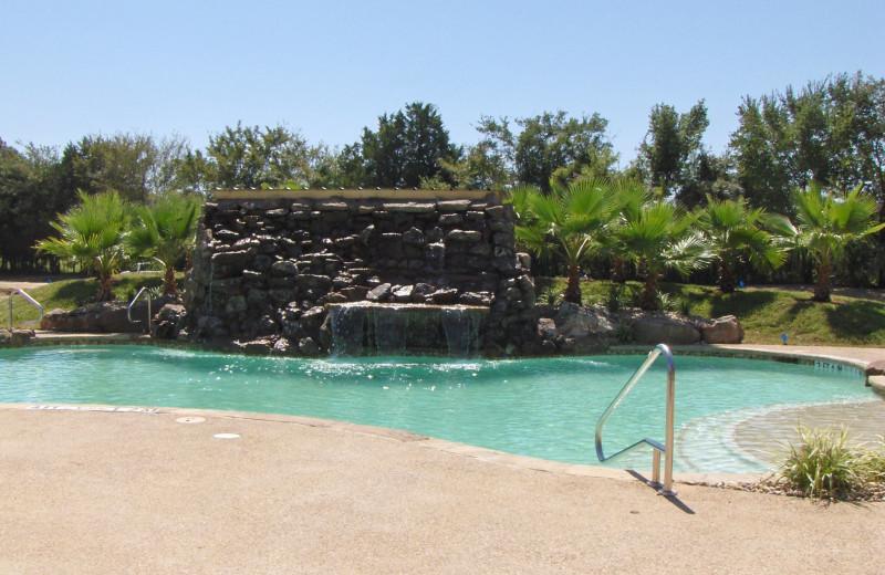 Outdoor pool at Mill Creek Ranch Resort.