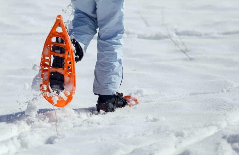Snowshoeing at Patterson Kaye Resort.