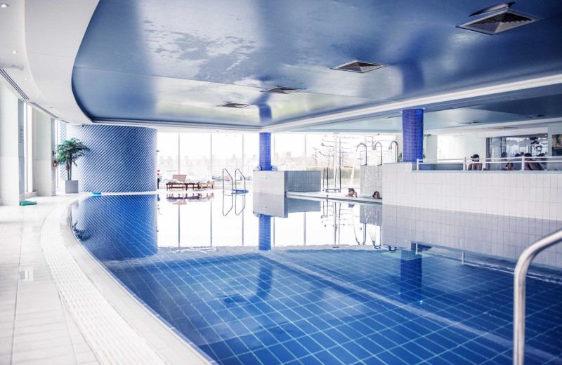 Indoor pool at The St. David's Hotel & Spa.