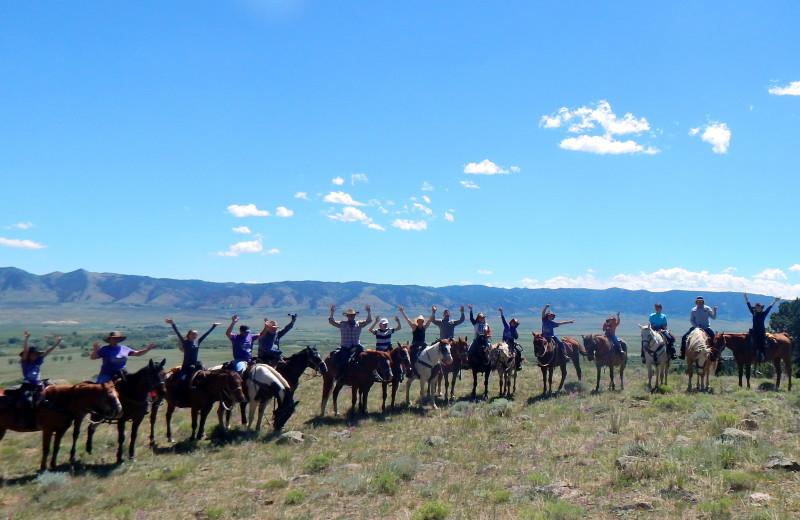 Groups at Vee Bar Guest Ranch.