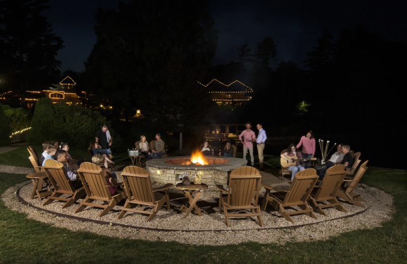The Lakeside Fire Pit is our favorite place, maybe it can be yours too.