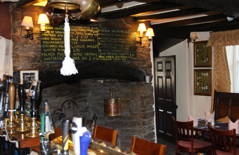 Bar at Rose and Crown Hotel.