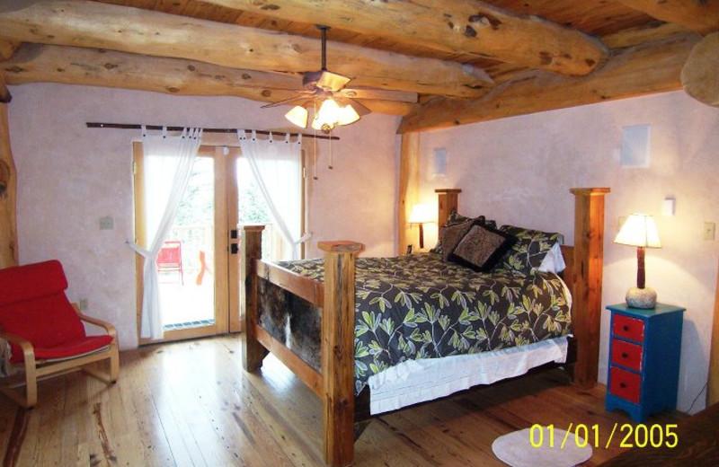Rental bedroom at Resort Properties of Angel Fire.