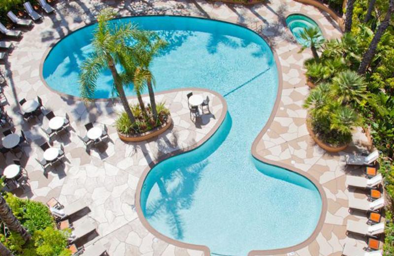 Outdoor Pool At Radisson Hotel Newport Beach