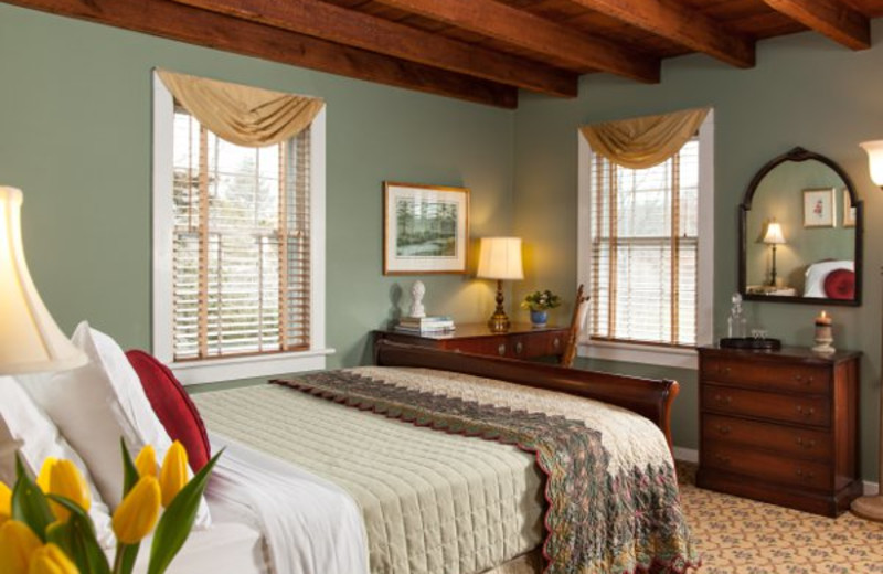 Guest room at A Butler's Manor.