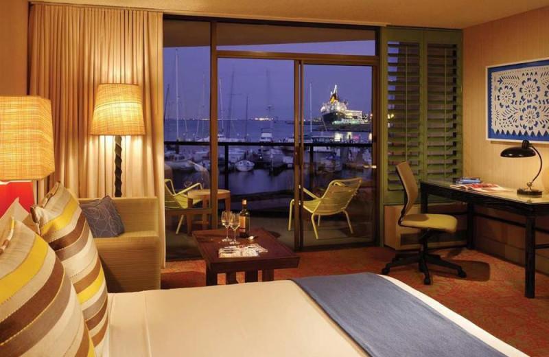 Guest room at Hotel Maya.