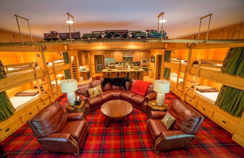 Interior at The Lodge at River Run.