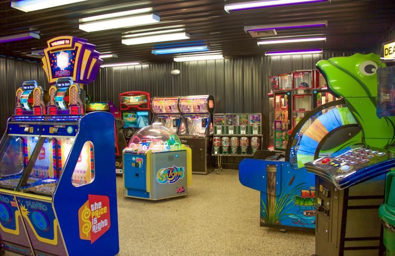 Arcade at Yogi Bear's Jellystone Park Hagerstown.