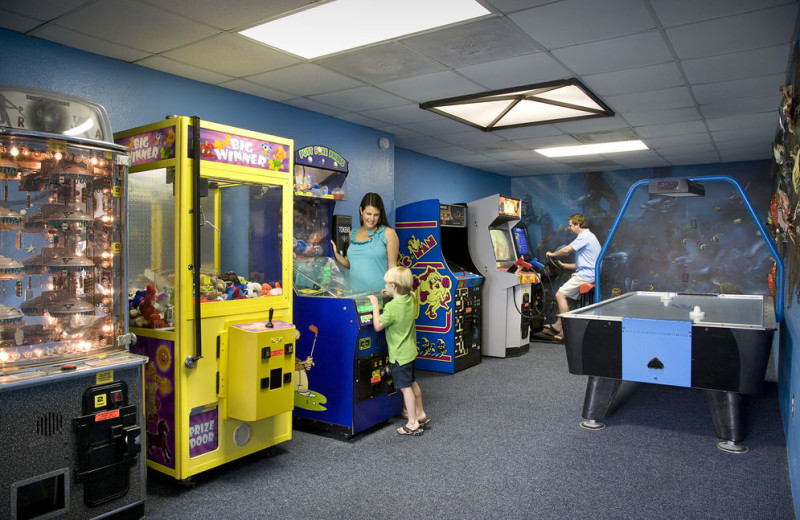 Arcade at Carolina Winds.