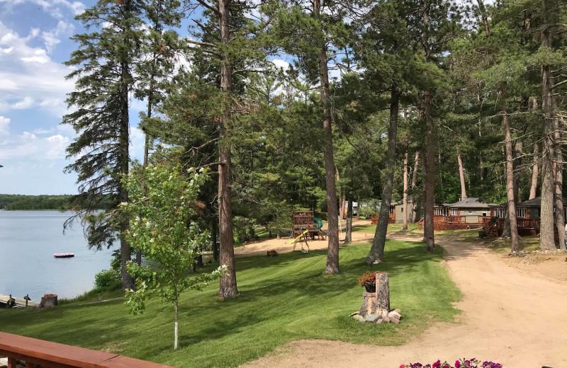 Exterior view of Moore Springs Resort.