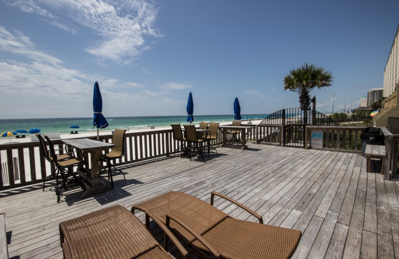 Rental deck at Resort Destinations.