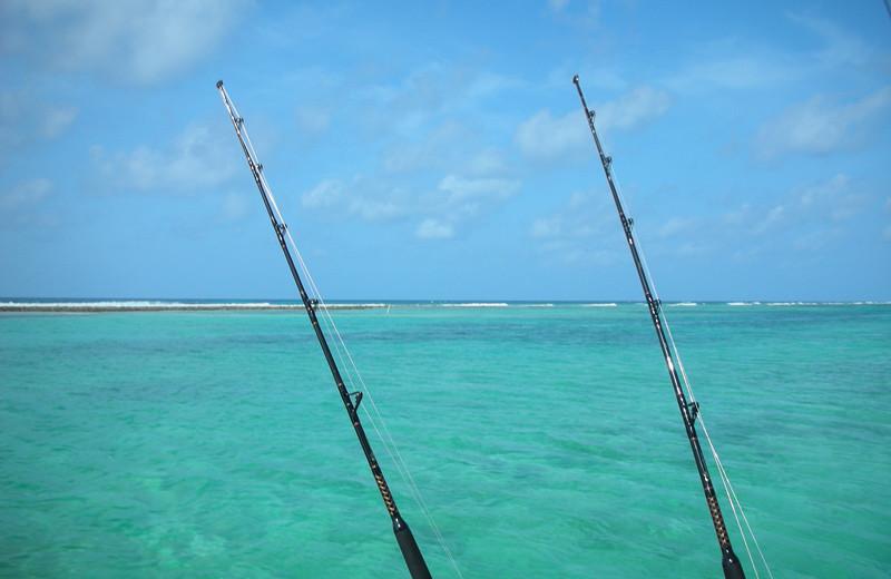 Fishing at Brac Caribbean Beach Village.