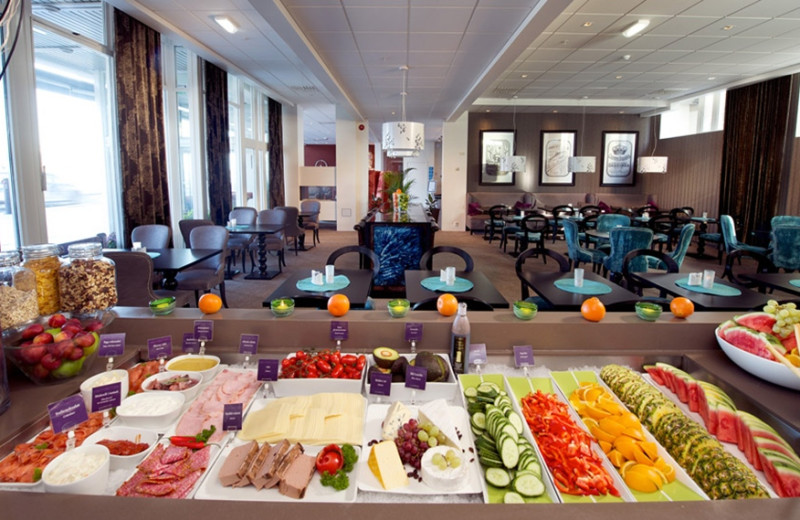 Dining at Clarion Collection Hotel Skagen Brygge.