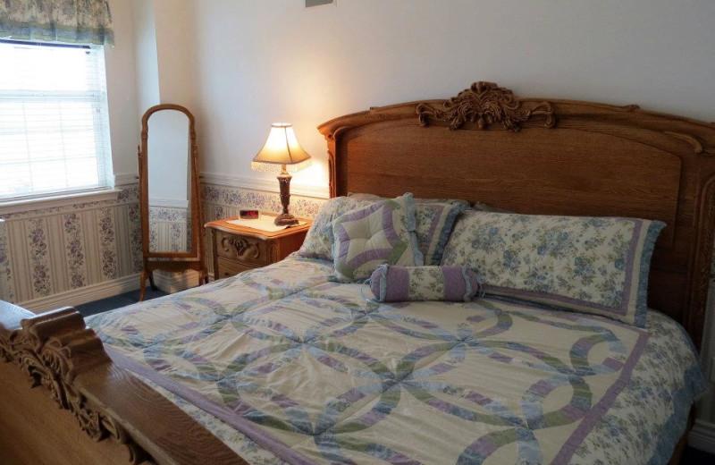 Guest room at Judith Ann Inn.