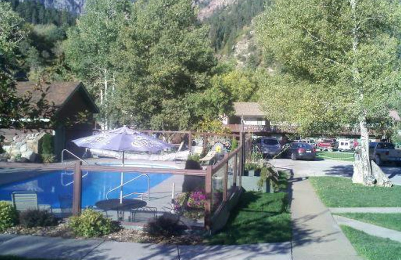 Outdoor Pool at Twin Peaks Lodge