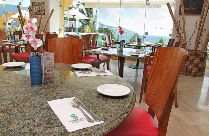 Dining at Hotel Copacabana Riviera Maya.