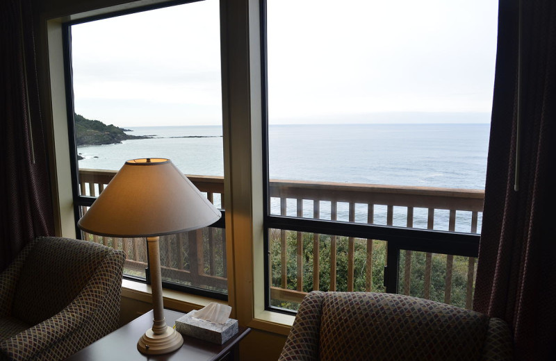 View from beach house at Surfrider Resort.