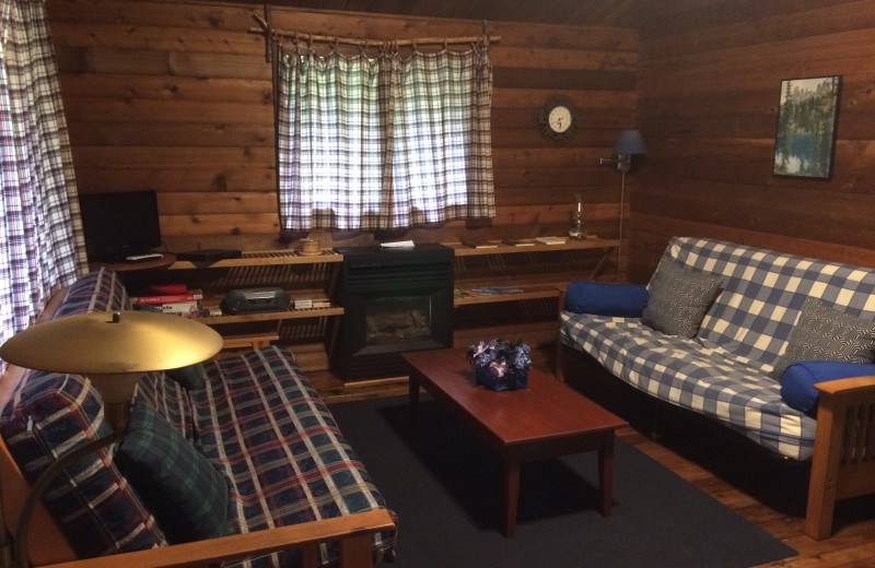 Cabin 3 - living area