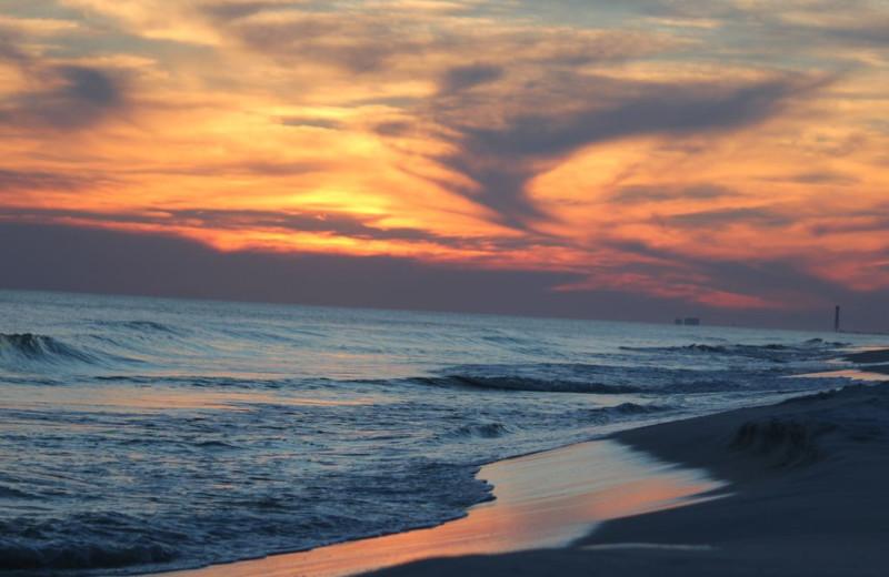 Sunset at Alicia J. Hollis, Realtor.