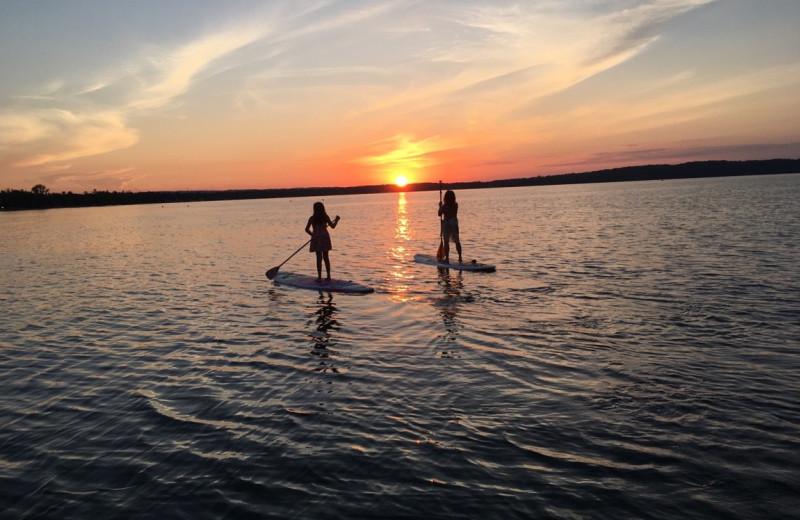 Paddle boards at Lakeshore Resort TC.