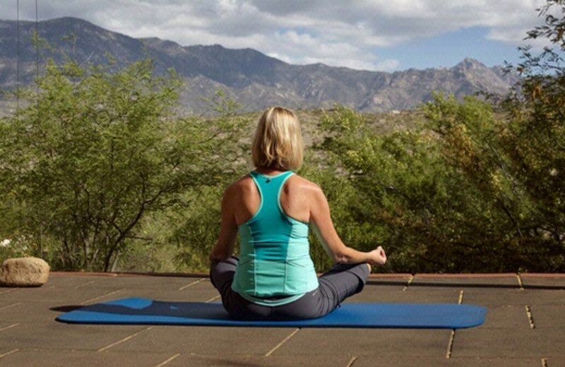 Outdoor Yoga Deck at Miraval