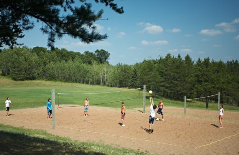 Volley ball court at Heartwood Conference Center & Retreat.