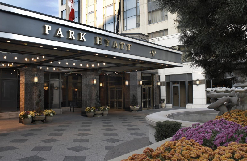 Exterior view of Park Hyatt Toronto.