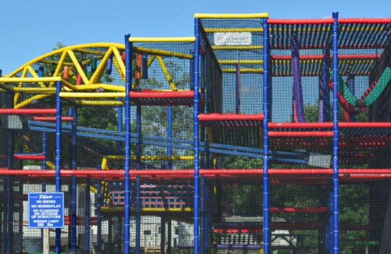 Playground at Mark Twain Landing.