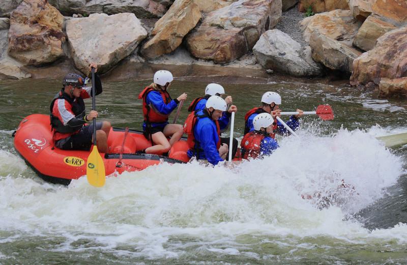 Rafting at Railey Vacations.
