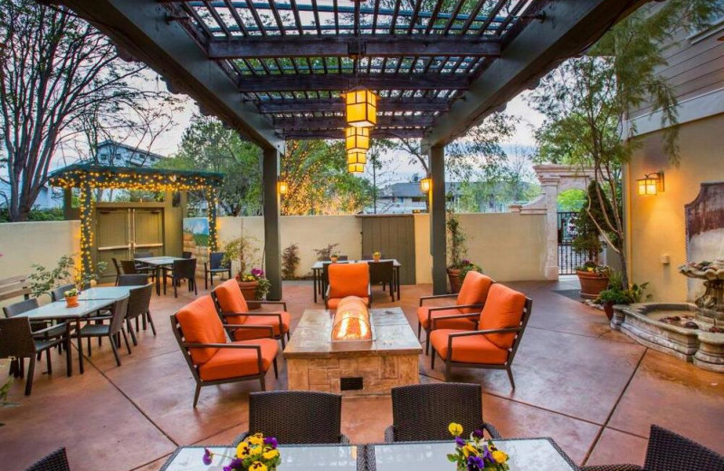 Patio at Best Western Sonoma Valley Inn & Krug Event Center.
