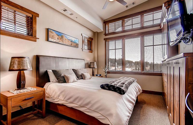 Rental bedroom at Breckenridge Rentals by Owner.