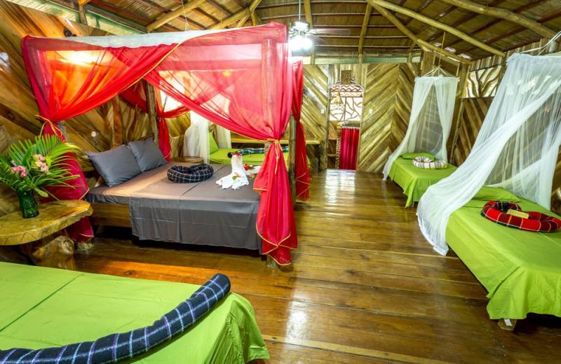 Guest room at La Costa de Papito.