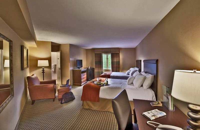 Guest suite at Lancaster DoubleTree Resort by Hilton.