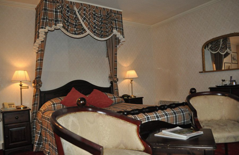 Guest room at Moulin Hotel.