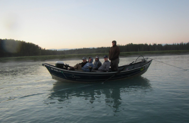 Fishing at Soldotna B&B Lodge and Alaska Fishing Charters.
